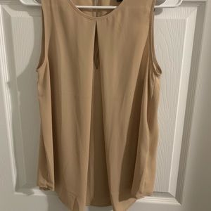 Forever 21 nude tank top, size Small, NWOT